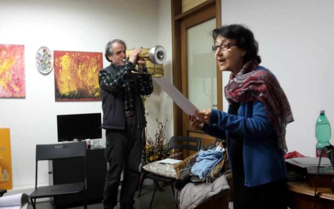 Incontri del martedì-14/02/17-una poetica tromba di latta a Poesia e Solidarietà