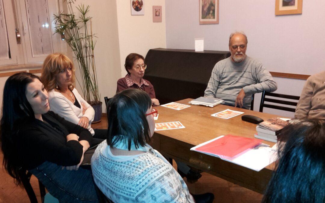 Incontri del martedì 11/10/2016-l'ultimo incontro nella storica sede di via Beccaria 6.