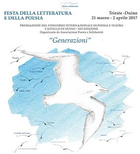 """""""Generazioni"""".  Festa della Poesia e della Letteratura: 21 marzo -2 aprile 2017"""