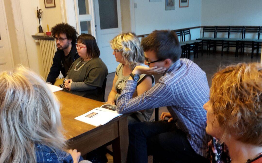 Incontri del martedì(mercoledì 10/05/2017 Un gruppo di poeti sempre più giovane