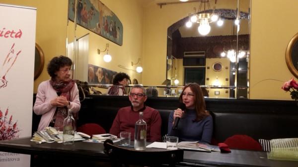 Incontro con gli autori, 11/11/2017-Cristina Micelli e Fulvio Segato, due voci cristalline di grande qualità
