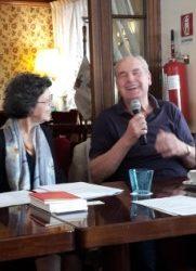 Incontri con l'autore, 27maggio2018-foyer Duchi D'Aosta, Gabriella Valera presenta Claudio Grisancich