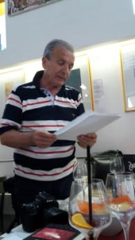 """Incontro con l'autore, 5 giugno 2018-Inaugurazione mostra di Ottavio Gruber:""""la poesia incisa"""""""