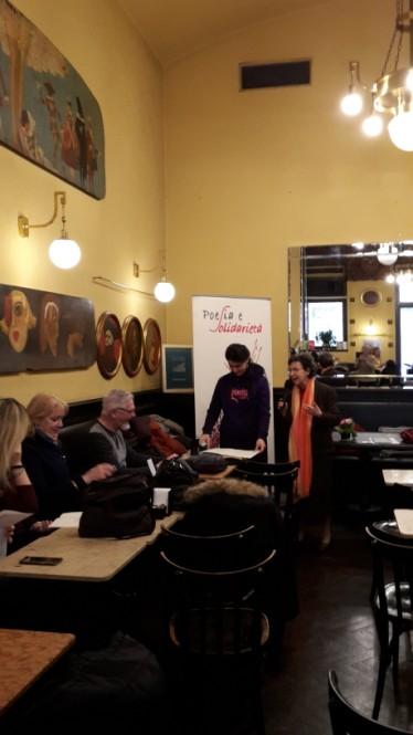 Domenica 3 febbraio 2019: Storico Caffè San Marco; incontri con gli autori